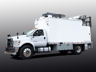 Picture of FirstNet SAT COLT Cell on light truck