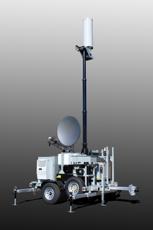 Picture of small SAT COW cell on wheels